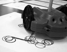 Drawing Robot Font